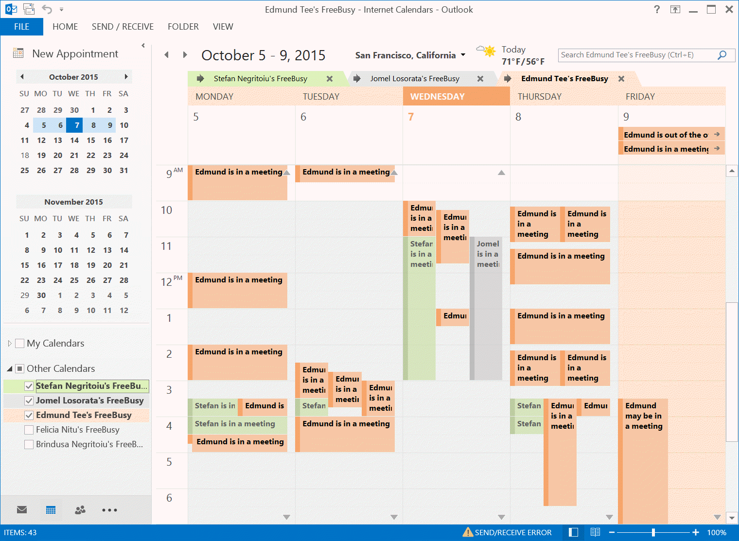 unified calendars